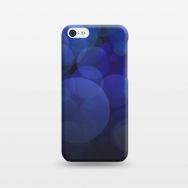 iPhone 5C  Magical Blue Bokeh Lights by Andrea Haase
