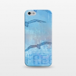 iPhone 5/5E/5s  Free Like A Bird Art Illustration by Andrea Haase