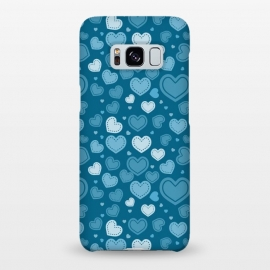 Galaxy S8+  Blue Hearts by TMSarts