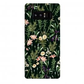 Galaxy Note 8  Dark Botanical Garden by