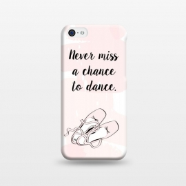 Ballerina Shoes Dance Quote by Martina (cute,sweet,pink,watercolour,illustration,dance,dancing,ballet,ballerina,shoes,ballerina shoes,typography,quote,words,modern,stylish,elegant,for her,for child,for daughter,for dancer)