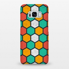 Galaxy S8+  hexagonal tiles by TMSarts