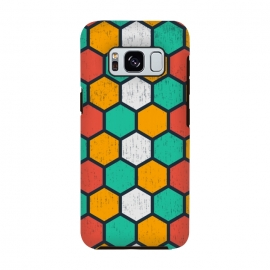Galaxy S8  hexagonal tiles by TMSarts