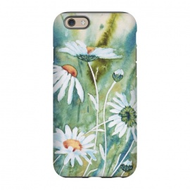 iPhone 6/6s  Watercolour Daisies by Paula Ohreen