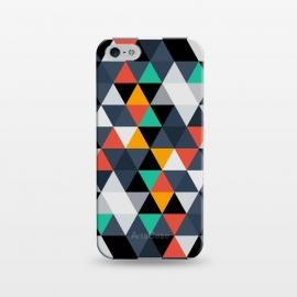 iPhone 5/5E/5s  Geometric Triangle by TMSarts