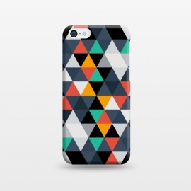 iPhone 5C  Geometric Triangle by TMSarts