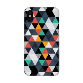 iPhone X  Geometric Triangle by TMSarts