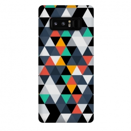 Galaxy Note 8  Geometric Triangle by TMSarts