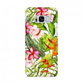 Aloha Tropical Flower Jungle Pattern by Utart