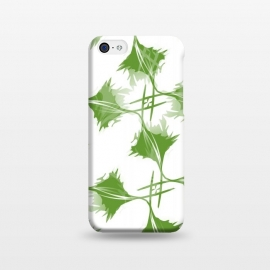iPhone 5C  Green Leaves by Creativeaxle