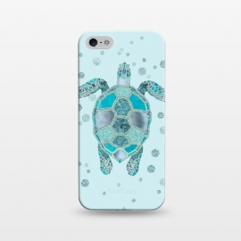 iPhone 5/5E/5s  Underwater Glamour Turtle by Andrea Haase