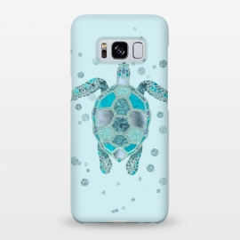 Galaxy S8+  Underwater Glamour Turtle by Andrea Haase