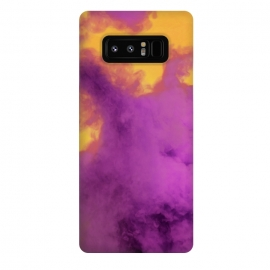 Galaxy Note 8  Ultraviolet Smoke by Gringoface Designs