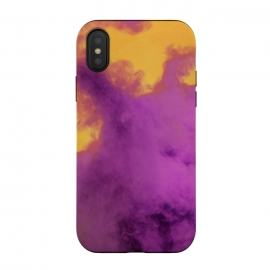 iPhone Xs / X  Ultraviolet Smoke by Gringoface Designs (smoke,fumes,fire,vapor,pop culture,Trendy,teen fashion,trippy,psychedelic ,gringoface,bright colors,pantone of the year,ultraviolet,abstract,ink,liquid,liquid effect,best selling)