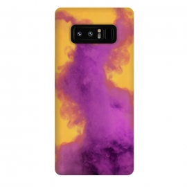 Galaxy Note 8  Ultraviolet Fumes by Gringoface Designs