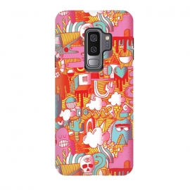 Galaxy S9 plus  0006 by  (crazy,wacky,monster,pattern,colorful)