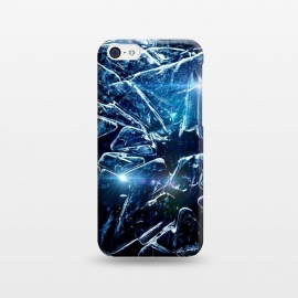 iPhone 5C  Cracked Ice by Gringoface Designs