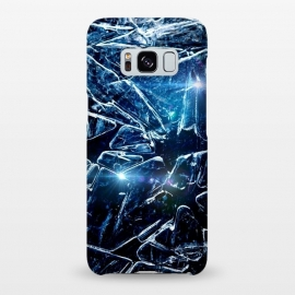 Galaxy S8+  Cracked Ice by Gringoface Designs