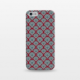 iPhone 5/5E/5s  Seamless Retro Circle by TMSarts