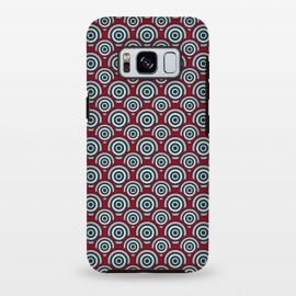 Galaxy S8+  Seamless Retro Circle by TMSarts