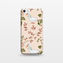 iPhone 5C  Goose in Rose Garden by Creativeaxle