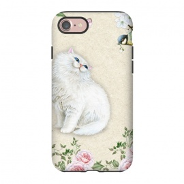 iPhone 8/7  Kitty Welcomes Bird by Creativeaxle