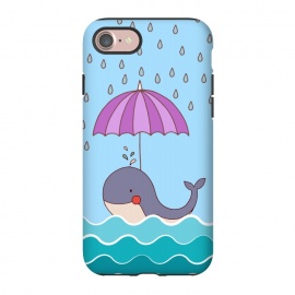 iPhone 8/7  Swimming Whale by Creativeaxle