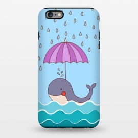 iPhone 6/6s plus  Swimming Whale by Creativeaxle