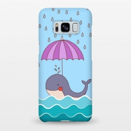 Galaxy S8+  Swimming Whale by Creativeaxle