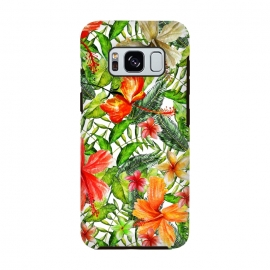 Galaxy S8  Hibiscus Pattern by Utart