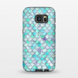 Galaxy S7  Hand drawn mermaid scales  by Utart