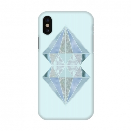 iPhone X  Glamorous Gemstone Diamonds by Andrea Haase