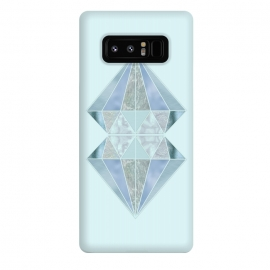 Galaxy Note 8  Glamorous Gemstone Diamonds by Andrea Haase