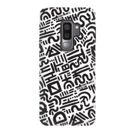 Galaxy S9 plus  00011 by  (ink,paint,abstract,pattern,black & white)