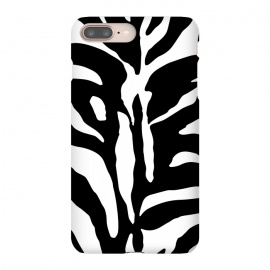 Black And White Zebra Print by Andrea Haase