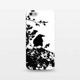 iPhone 5/5E/5s  Black And White Bird by Andrea Haase