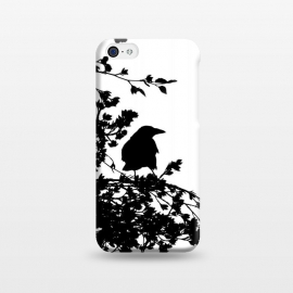 iPhone 5C  Black And White Bird by Andrea Haase