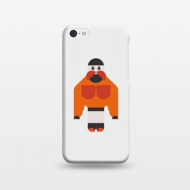 iPhone 5C  Strong Man by TMSarts