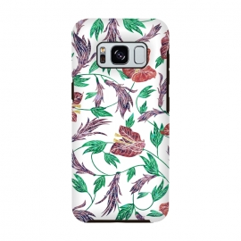 Tropical Flowers Pattern by Dushan Medich