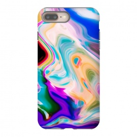 Colorful Abstract Marble Swirls by Dushan Medich