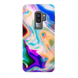 Galaxy S9+  Colorful Abstract Marble Swirls by Dushan Medich (colorful,marble,swirls,abstract,cool)