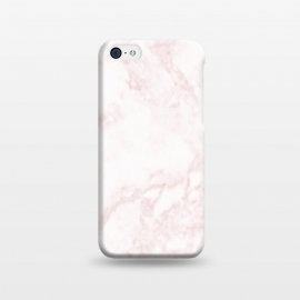 iPhone 5C  Rose-gold Marble Deluxe by Dushan Medich