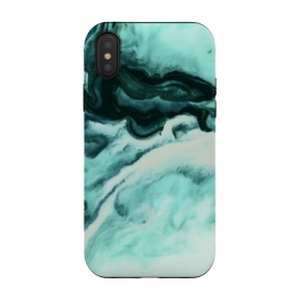 Abstract marbling mint by Mmartabc
