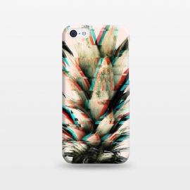 iPhone 5C  Glitch pineapple by Mmartabc