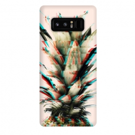 Galaxy Note 8  Glitch pineapple by Mmartabc