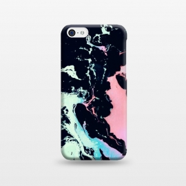 iPhone 5C  Abstract vibrant marbling by Mmartabc