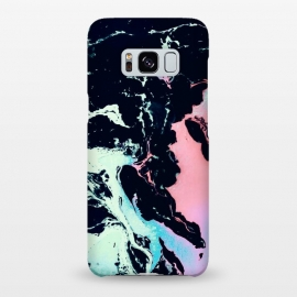 Galaxy S8+  Abstract vibrant marbling by Mmartabc