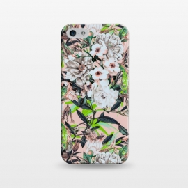 iPhone 5/5E/5s  Flowering bouquet pink by Mmartabc