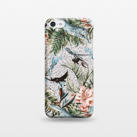 iPhone 5C  Paradisiacal flora and fauna  by Mmartabc