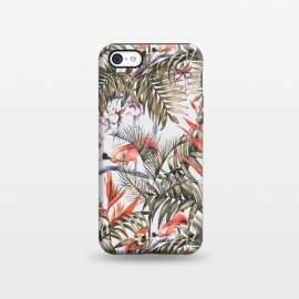 iPhone 5C  Exotic birds in the jungle paradise II by Mmartabc